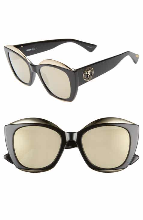 79f640a38f16 Moschino 52mm Cat Eye Sunglasses