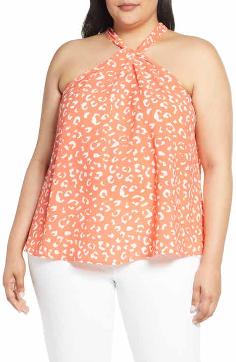 a771ea831f Gibson x International Women s Day Chelsea Crepe Halter Neck Blouse (Plus  Size)