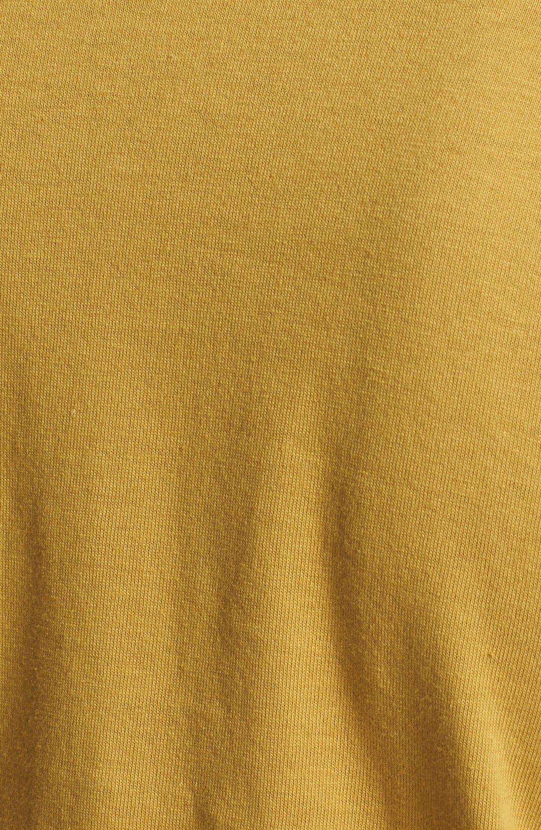Comme des Garçons PLAY Cotton Jersey T-Shirt,                             Alternate thumbnail 3, color,                             Olive