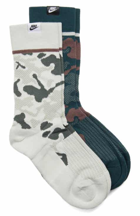timeless design 2188f f2dff Nike 2-Pack SNKR Sox Crew Socks