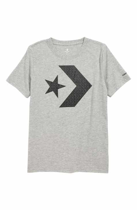 600bcfd4df75 Converse Star Chevron Graphic T-Shirt (Big Boys)