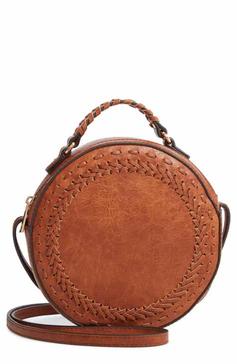 9e748a1343 Sole Society Anora Faux Leather Crossbody Bag