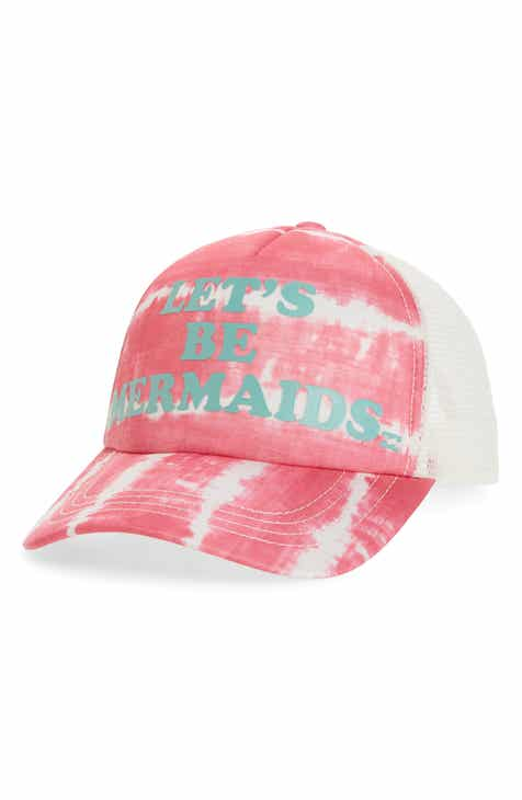 Billabong Ohana Mermaids Baseball Cap (Girls) f41493741bc7e