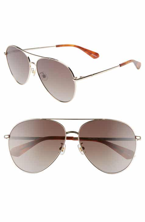 28696d7c5a kate spade new york carolane 61mm special fit polarized aviator sunglasses