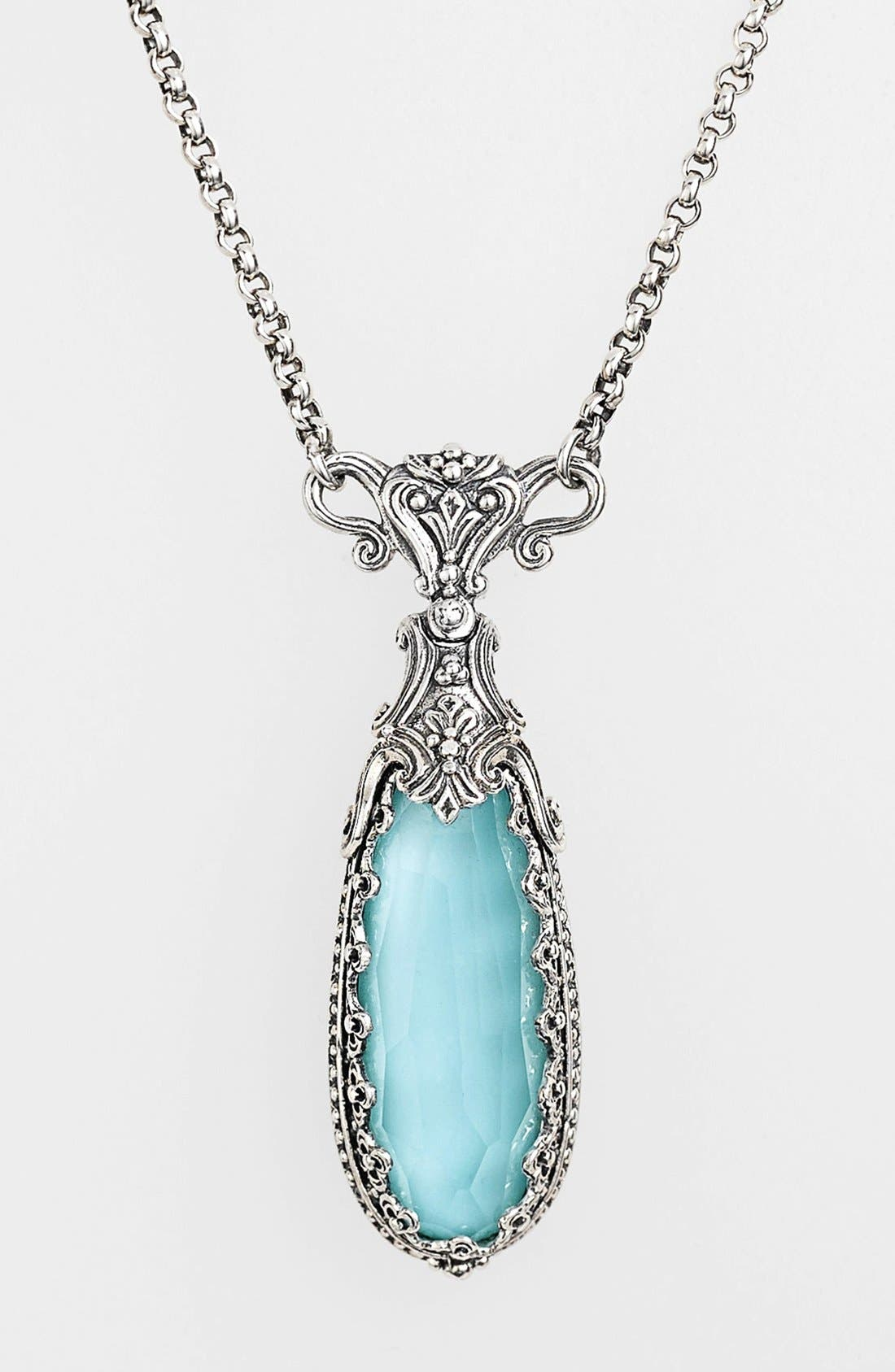 Alternate Image 1 Selected - Konstantino 'Aegean' Teardrop Pendant Necklace