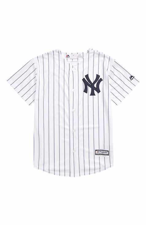 a90fc3c3 Majestic MLB New York Yankees Home Replica Baseball Jersey (Toddler Boys,  Little Boys & Big Boys)