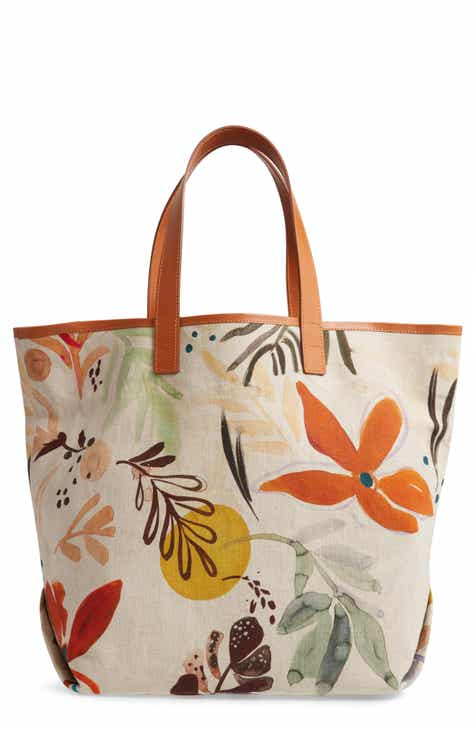 1762d1fb5f6a Lafayette 148 New York Print Canvas Tote