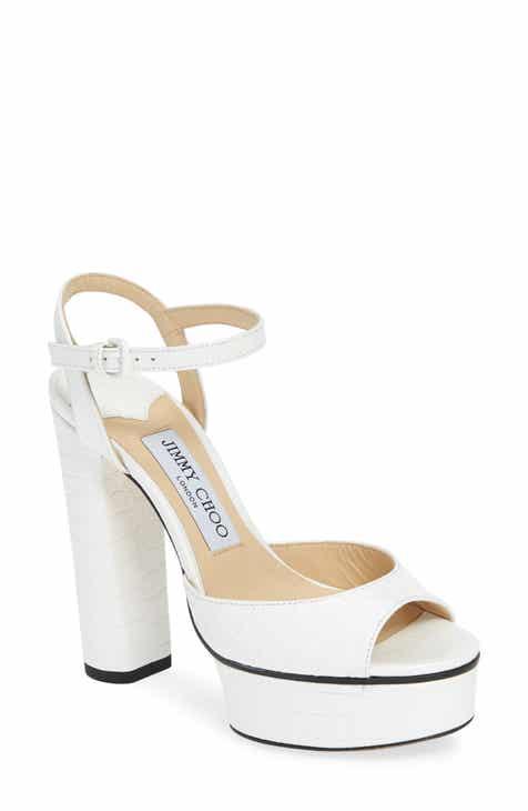 bc6190cf51c Jimmy Choo Peachy Platform Sandal (Women)