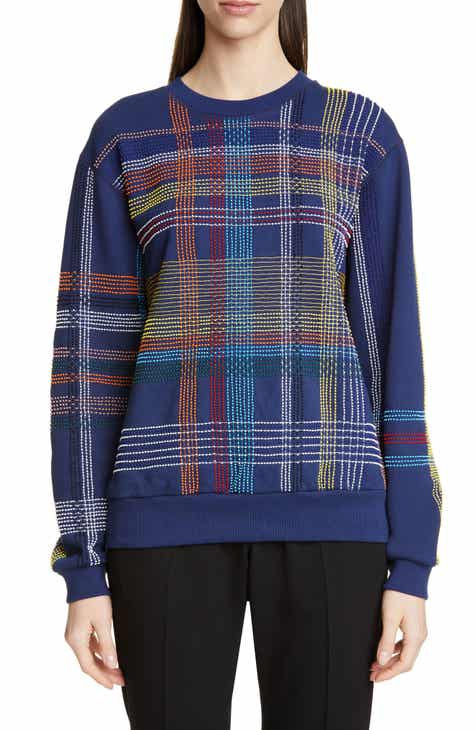 Dries Van Noten Holmon Beaded Cotton Sweatshirt by DRIES VAN NOTEN