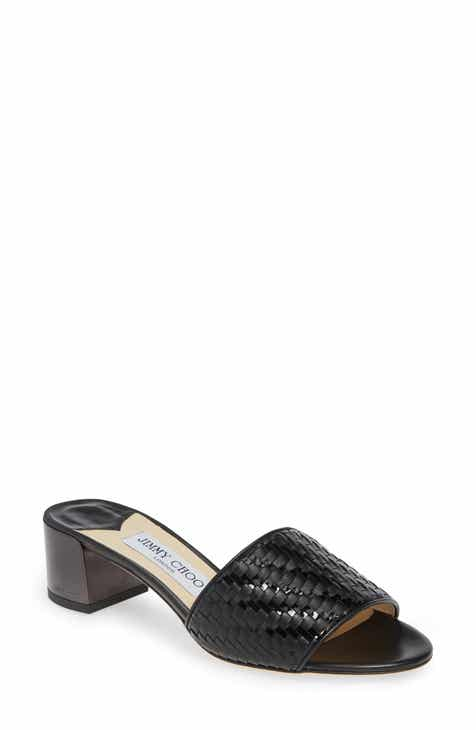 6fb5ca151845 Jimmy Choo Joni Woven Slide Sandal (Women)