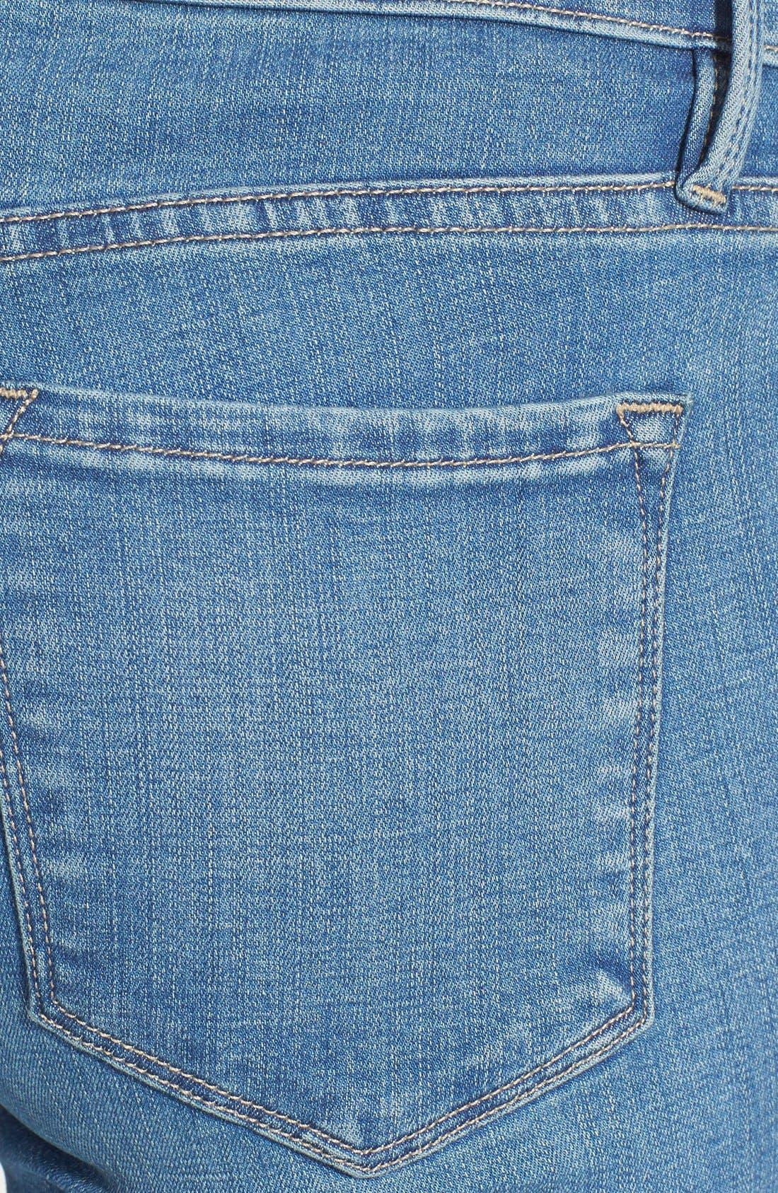 Alternate Image 3  - Frame Denim 'Le Skinny de Jeanne' Jeans (Alverstone) (Nordstrom Exclusive)