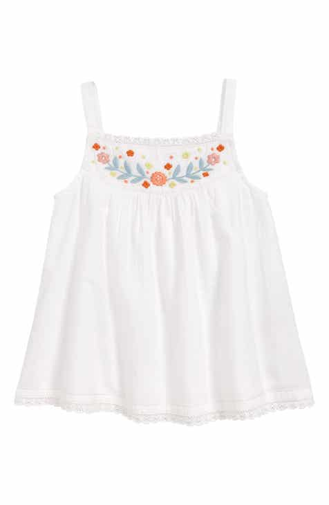 94a61b805c25a Mini Boden Embroidered Tank (Toddler Girls