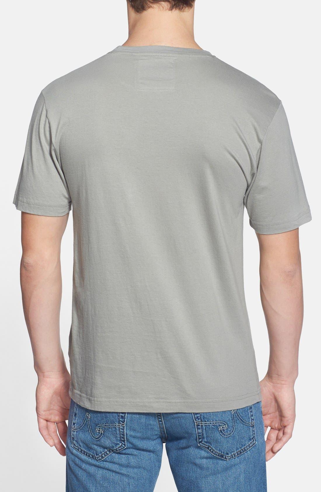 'St. Louis Cardinals - Brass Tacks' T-Shirt,                             Alternate thumbnail 2, color,                             Grey