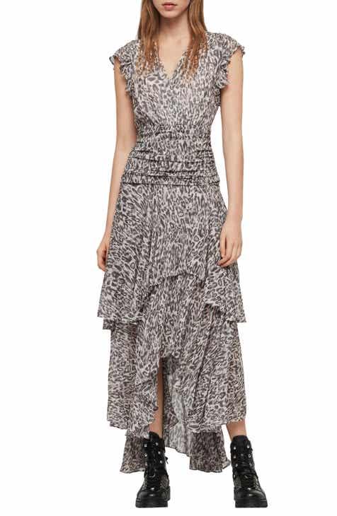 7077a1a7f0 ALLSAINTS Caris Kara Maxi Dress