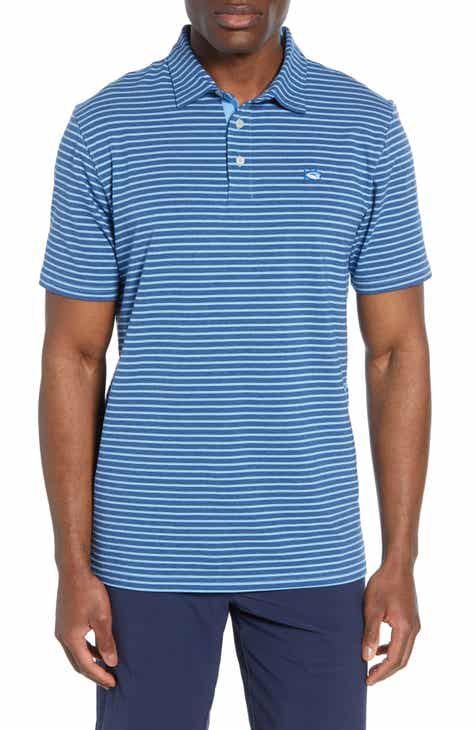 2cfff8b17 Southern Tide Stripe Channel Marker Polo