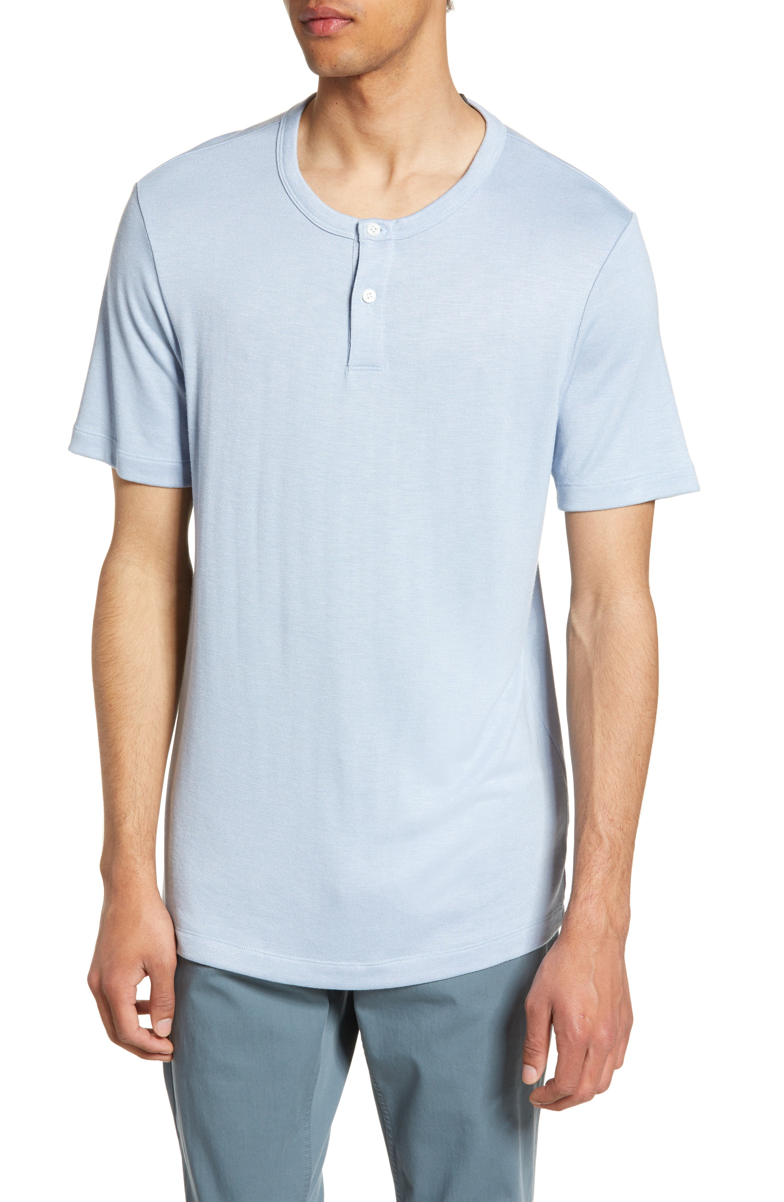 a8acbe6f Men's Theory Henley Long Sleeve & T-Shirts | Nordstrom