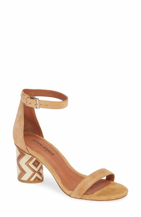 687c46d1f020 Jeffrey Campbell Purdy Statement Heel Sandal (Women)