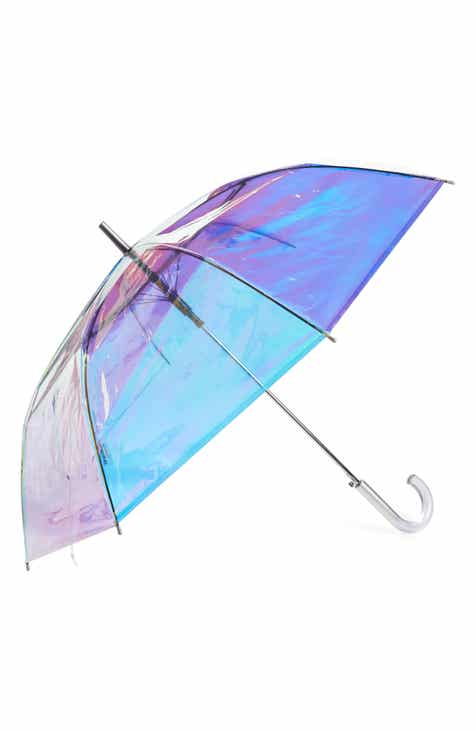 Shedrain Iridescent Auto Open Stick Umbrella
