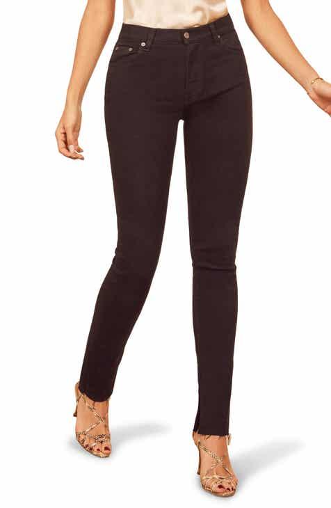 2e42a42bbf0 Reformation Riley Skinny Jeans