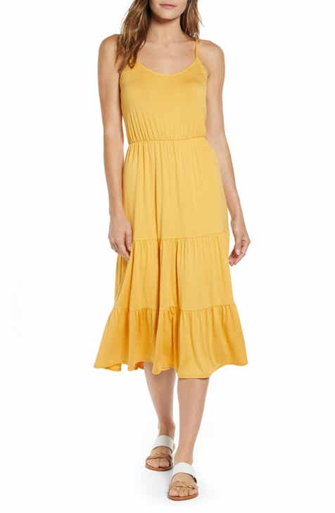 d8b448d15a Gibson x The Motherchic Sunset Tiered Knit Maxi Dress (Regular   Petite)