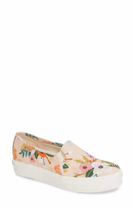 c5b1a270fbda Keds® x Rifle Paper Co. Triple Decker Slip-On Sneaker (Women)