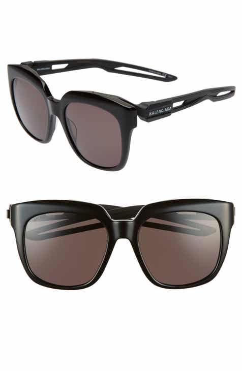 f983400103f Balenciaga 54mm Square Sunglasses