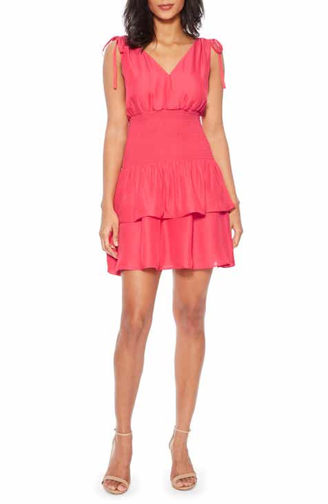 Parker Violina Tiered Ruffle Minidress by PARKER