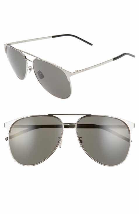 f5cce37642 Saint Laurent 55mm Diamond Shaped Sunglasses.  450.00. Product Image. SILVER