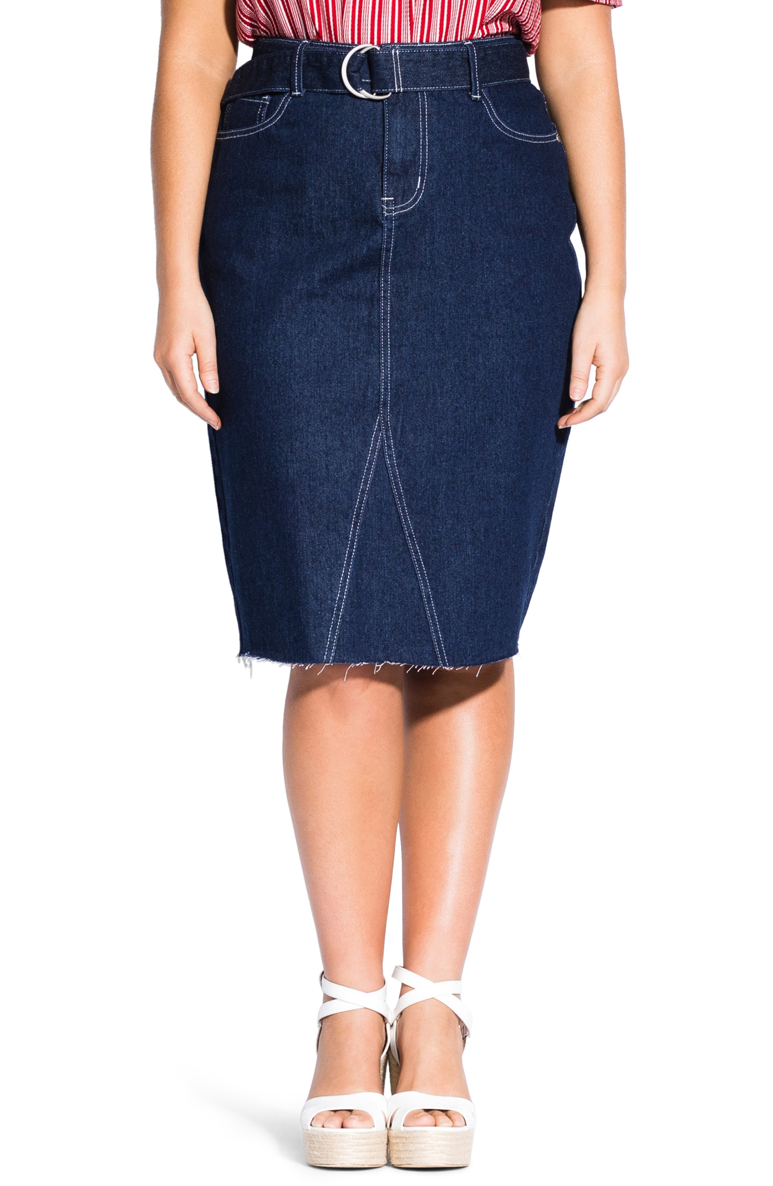 The Limited Womens Royal Blue Pencil Skirt Size 2 Skirts