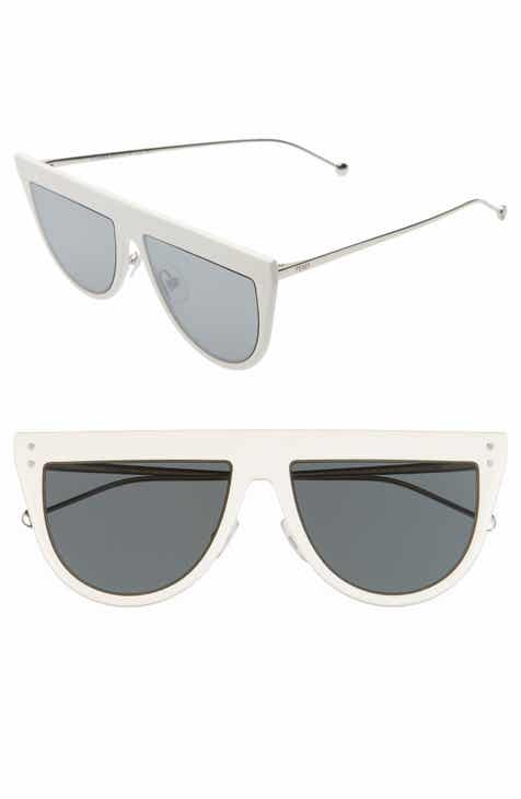 c6316406a4 Fendi 55mm Flat Top Sunglasses