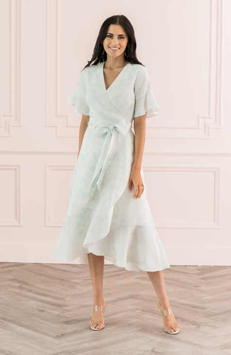 Rachel Parcell Ruffle Wrap Dress Nordstrom Exclusive
