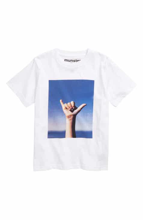Munsterkids Loose Graphic T-Shirt (Toddler Boys & Little Boys)