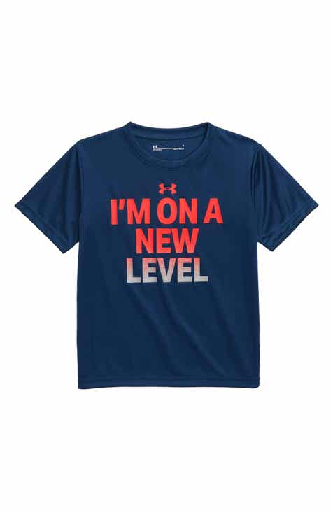 47a278a8823697 Under Armour I m on a New Level T-Shirt (Toddler Boys   Little Boys)