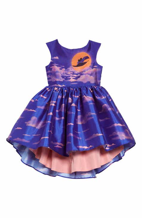 e13bfc347 Pippa & Julie x Disney Aladdin Fit & Flare Dress (Toddler Girls, Little  Girls & Big Girls)