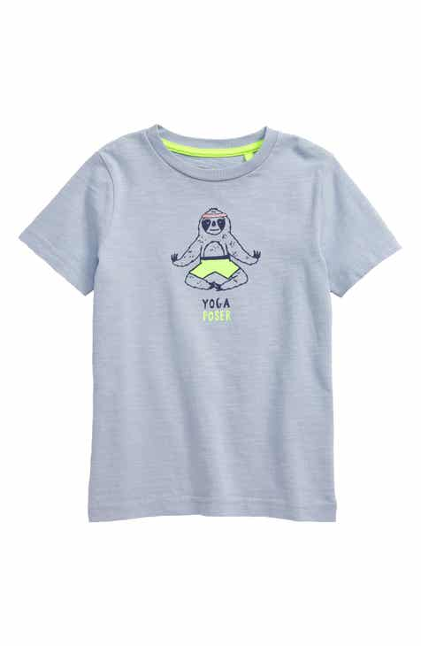 134c81f69b5 Mini Boden Yoga Poser Graphic T-Shirt (Toddler Boys