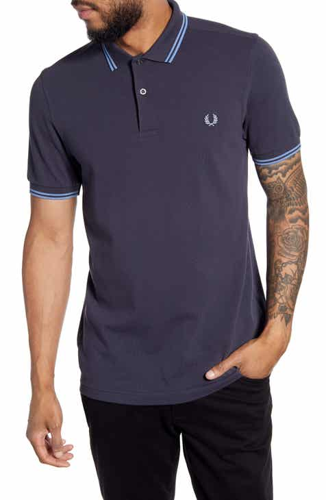 af8f92be0 Fred Perry Twin Tipped Extra Slim Fit Piqué Polo