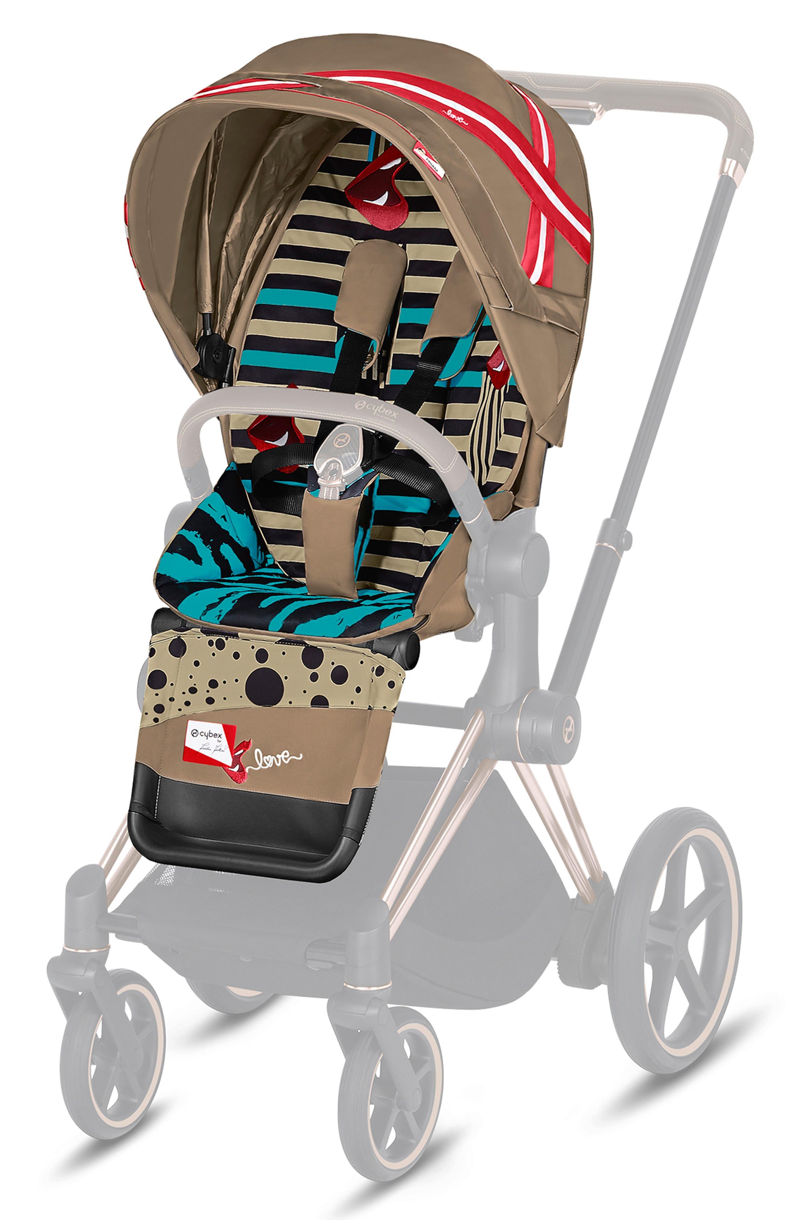 3 Pack  Large Blue Baby Pram Buggy Stroller Pushchair Hooks Carrier Bag Holders