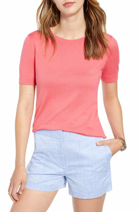 ec23716db2b8e Women's Short Sleeve Sweaters | Nordstrom