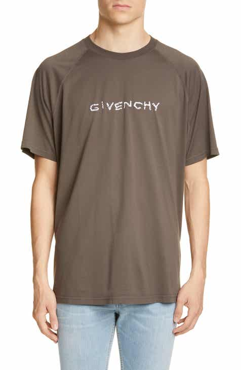 d7432af9 Givenchy Embroidered Oversize Raglan T-Shirt