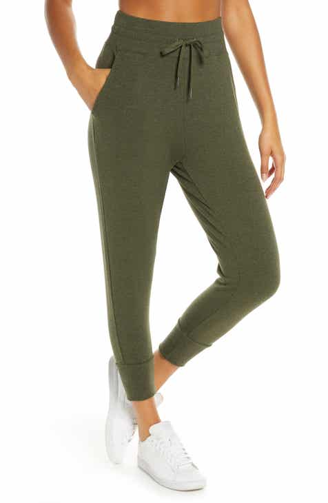 9b635246f19ae Zella Repeat High Waist Crop Jogger Pants