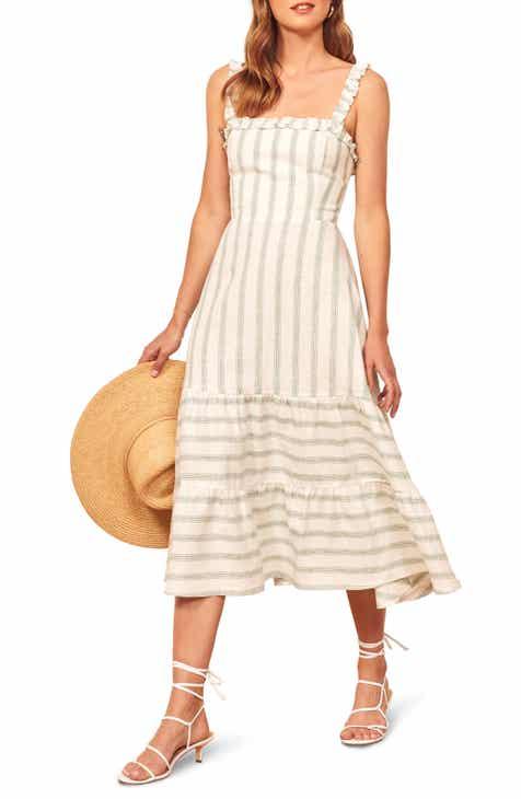 Reformation Hyla Midi Dress