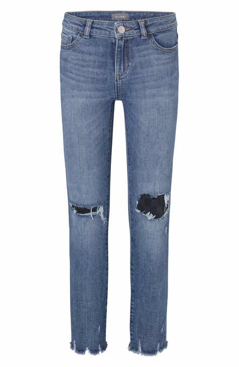 da37670997b2 DL1961 Boyfriend Ripped Jeans (Blake) (Big Girls)