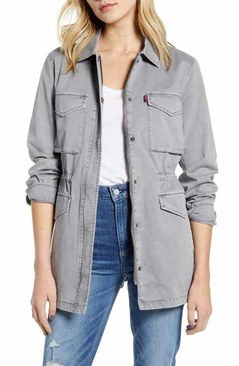 Save 55% on Levi's® Cotton Oversize Military Jacket
