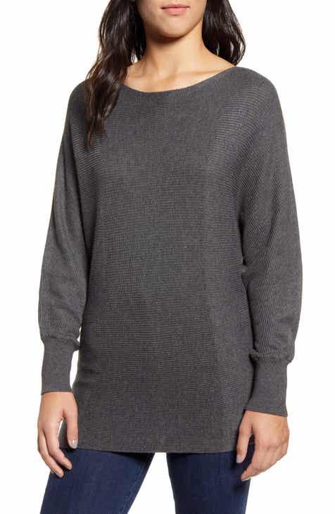 Tommy Bahama Bonita Boatneck Ribbed Cotton Blend Sweater