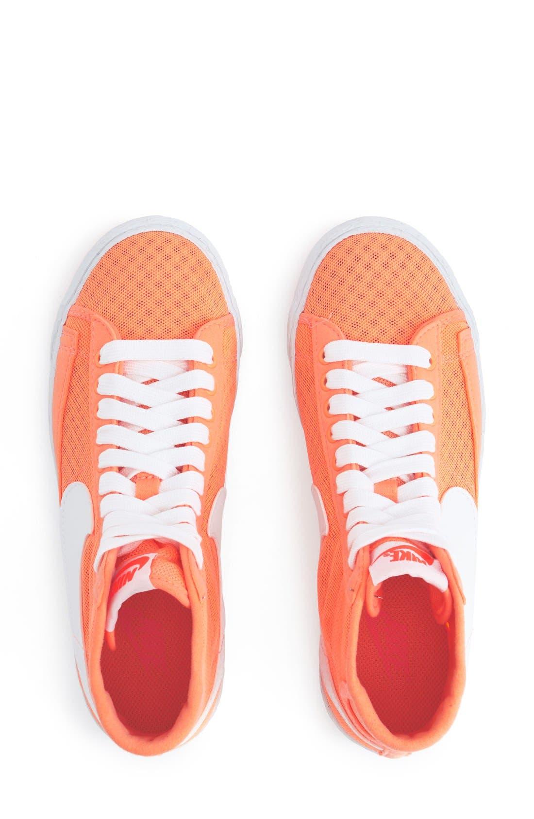 Alternate Image 3  - Nike 'Blazer' Vintage High Top Mesh Sneaker (Women)