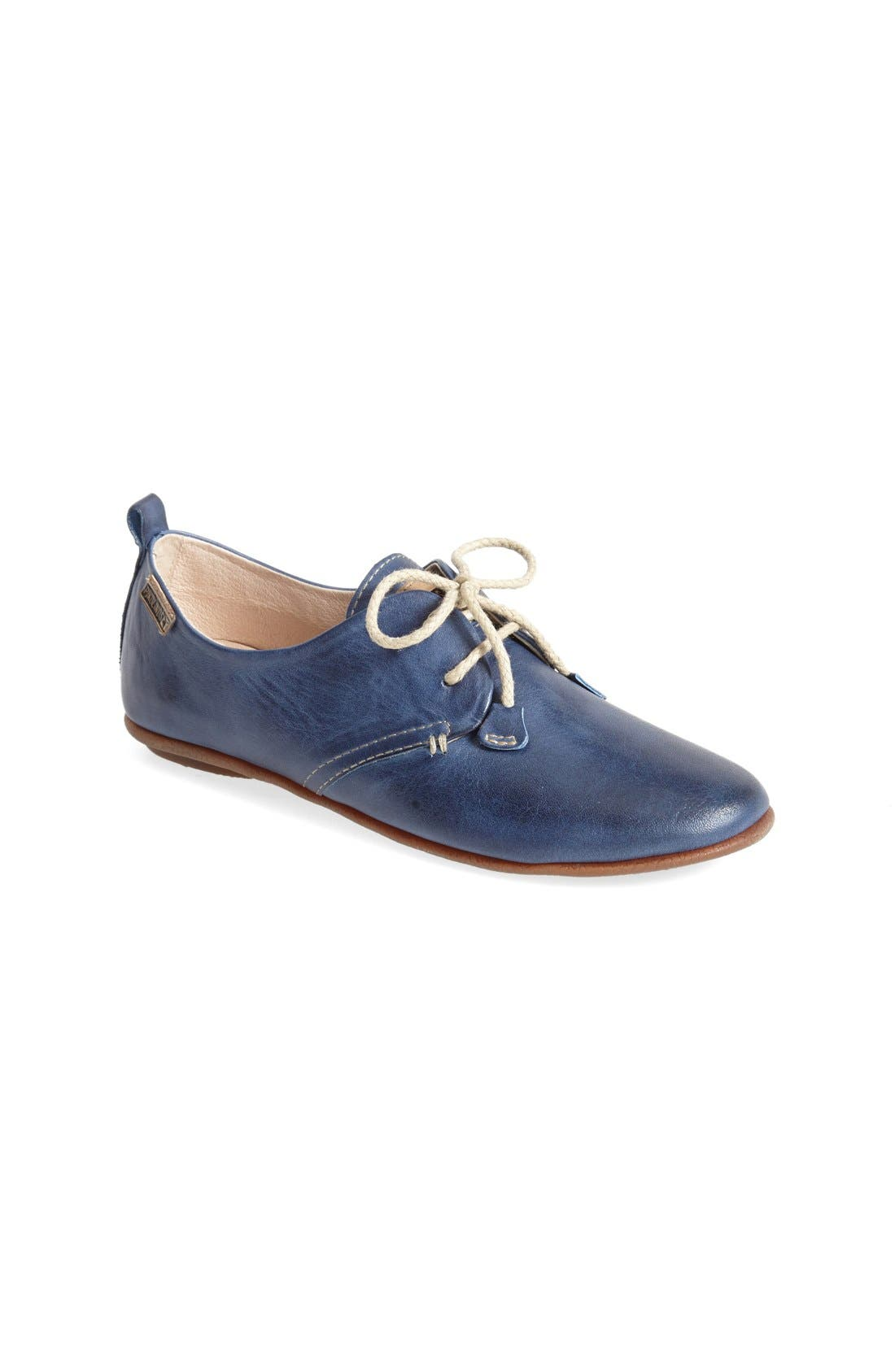 Alternate Image 1 Selected - PIKOLINOS Calabria Derby Flat (Women)