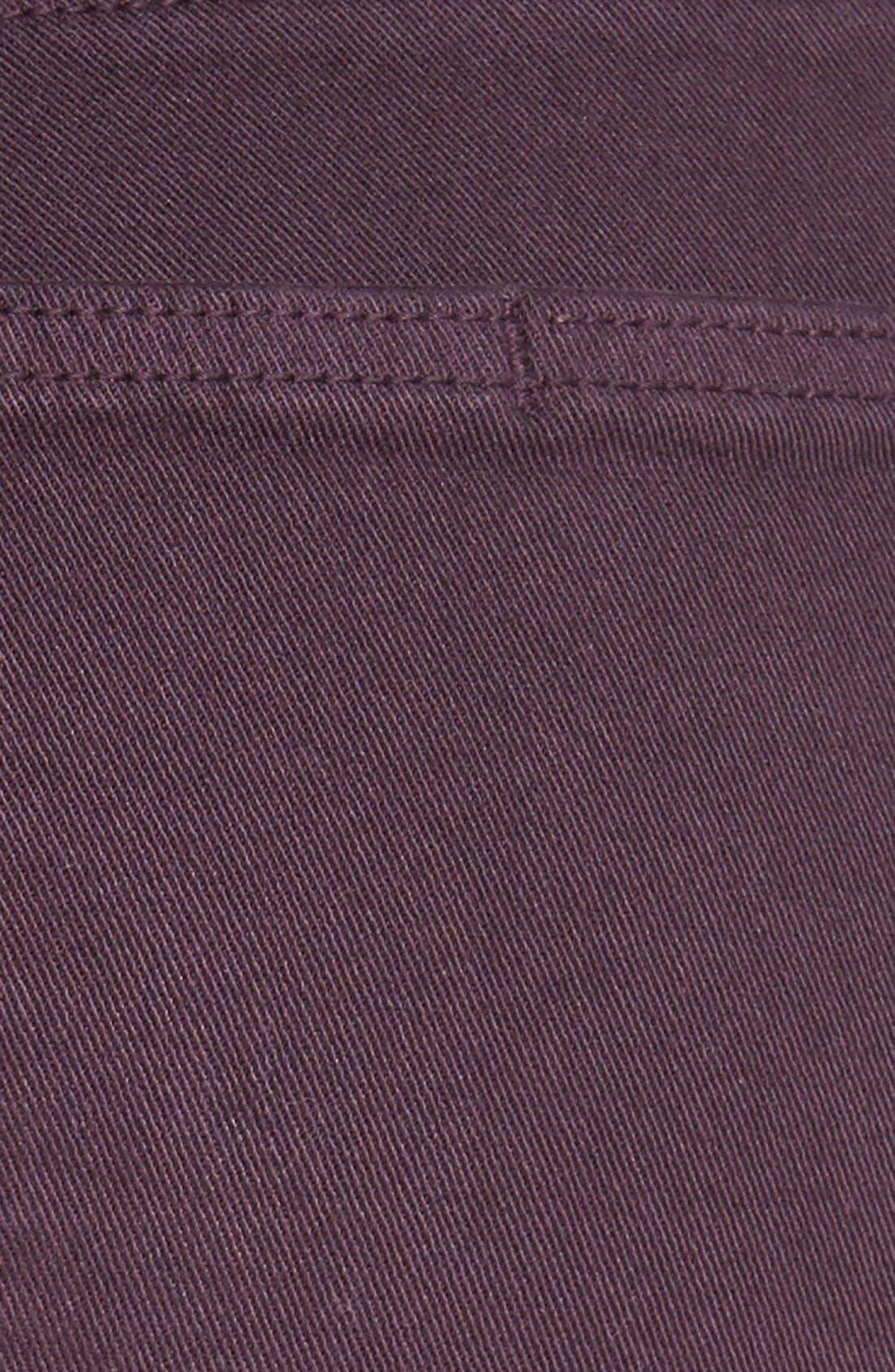 Alternate Image 7  - Paige Denim 'Verdugo' Ankle Skinny Jeans (Autumn Plum) (Nordstrom Exclusive)