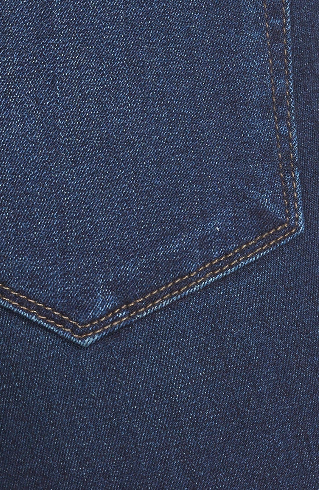 Alternate Image 4  - Paige Denim 'Hoxton' High Rise Ultra Skinny Jeans (Takara) (Nordstrom Exclusive)