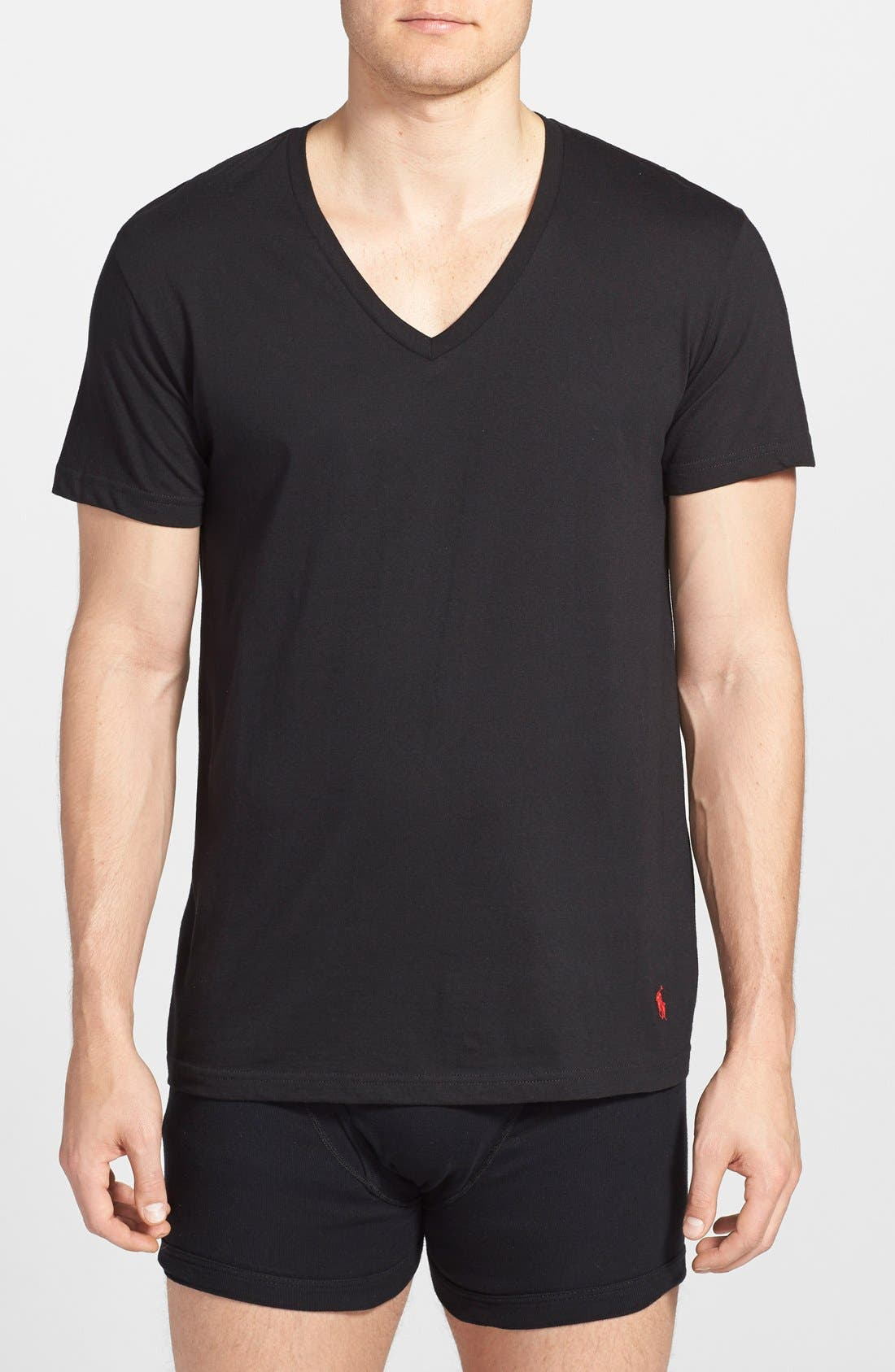 Polo Ralph Lauren 3-Pack V-Neck T-Shirts