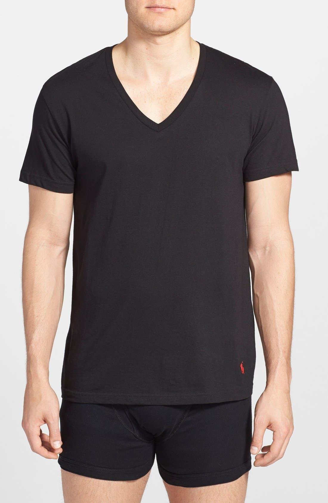 Polo Ralph Lauren 3-Pack V-Neck T-Shirts